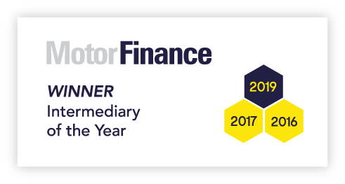 Logo for motor finance awards intermediary of the year 2019