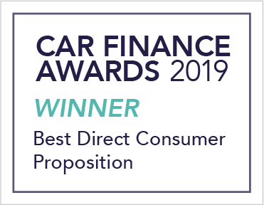 Car Finance Awards Best direct consumer proposition