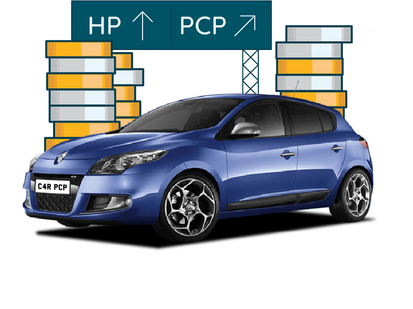 Financing a second hand car using HP or PCP
