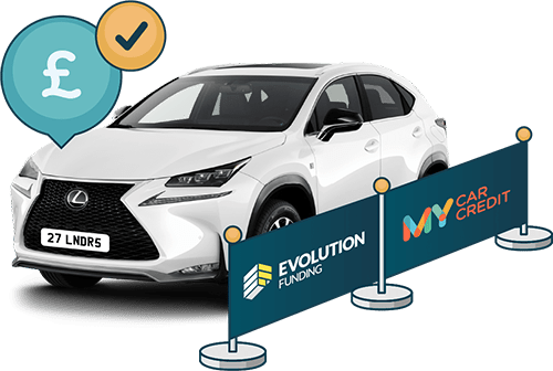 Car purchased with car loan using Evolution Funding T/A My Car Credit